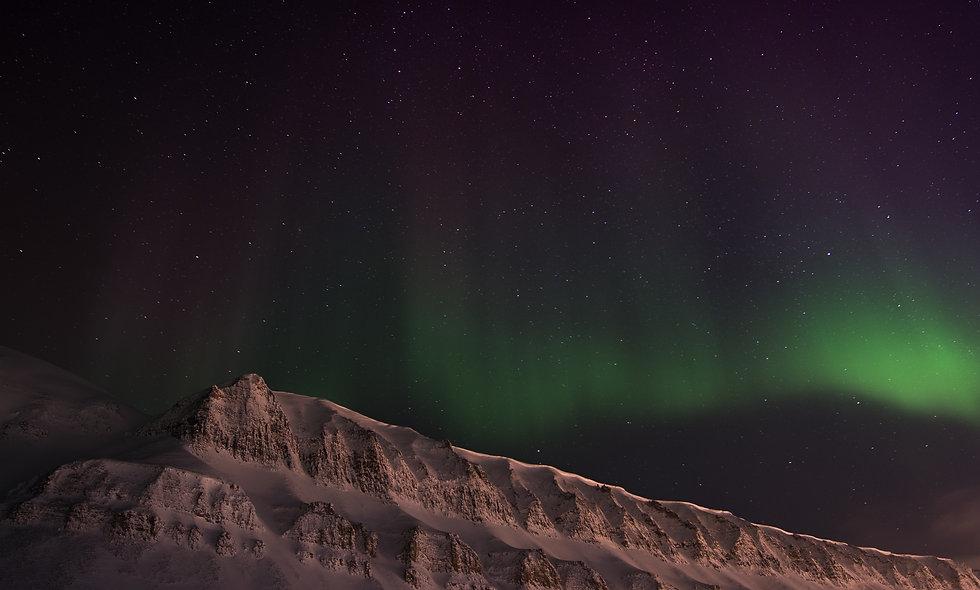 photo:svalbard aurora