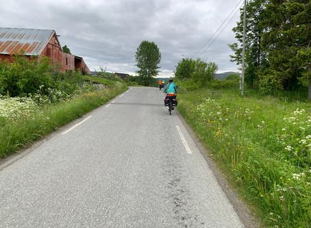 Cycling through Senja & Andoya.