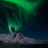 Outside Tromsø - a fantastic evening