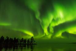 The Russian border aurora