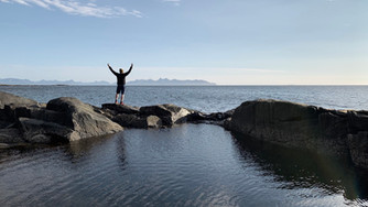 Travelling through Andøya