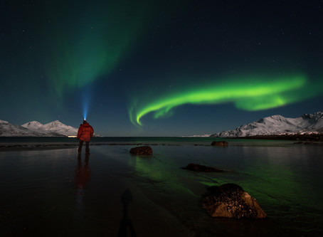 How to photograph the northern lights - tips & tricks.