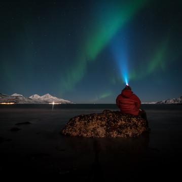 Grøtfjorden aurora & me