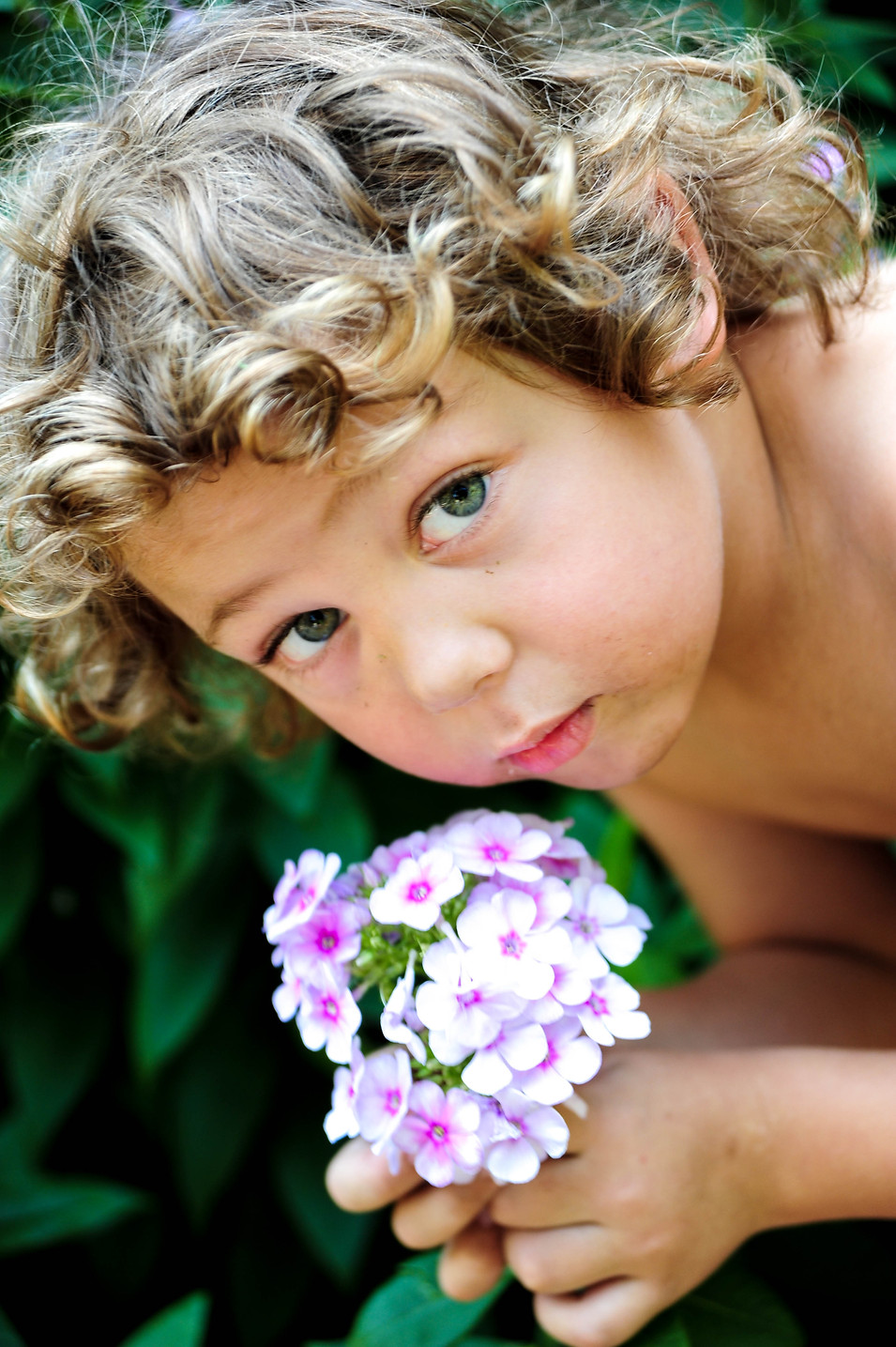 Curl Flowers