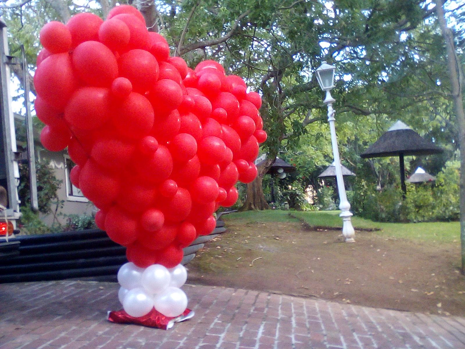 Large Balloon Heart