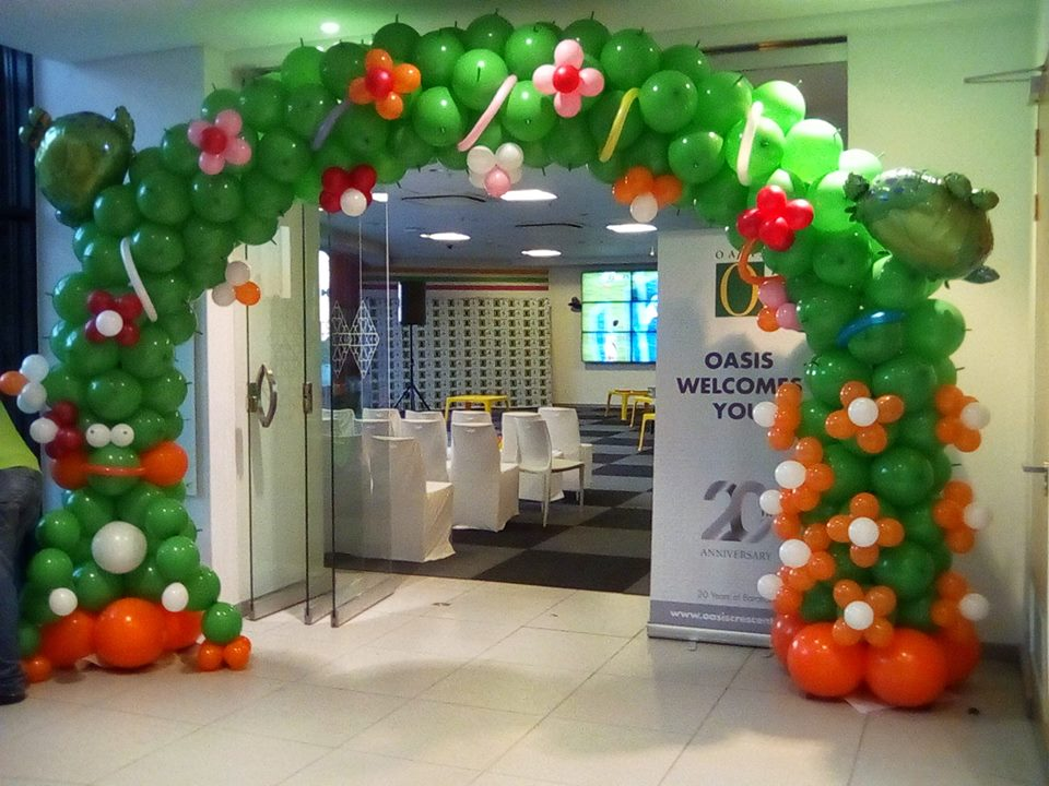 Kiddies Balloon Arch