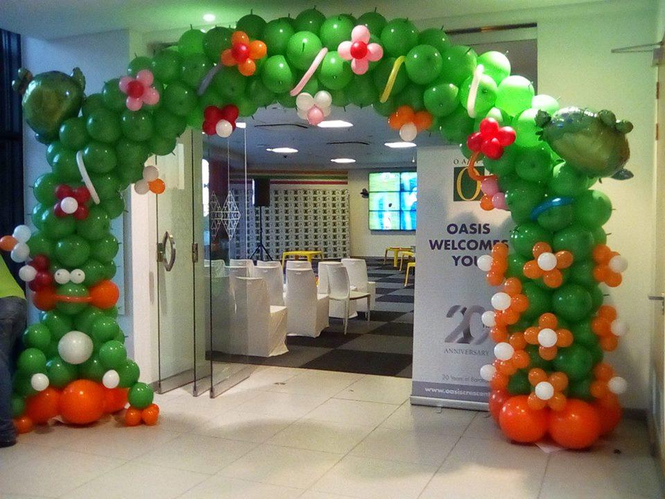 Kiddies Balloon Arch