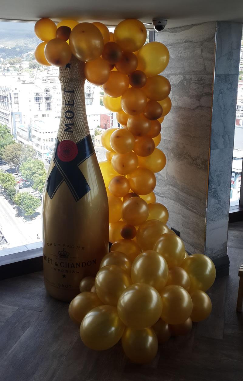 Balloon Champagne Bubbles