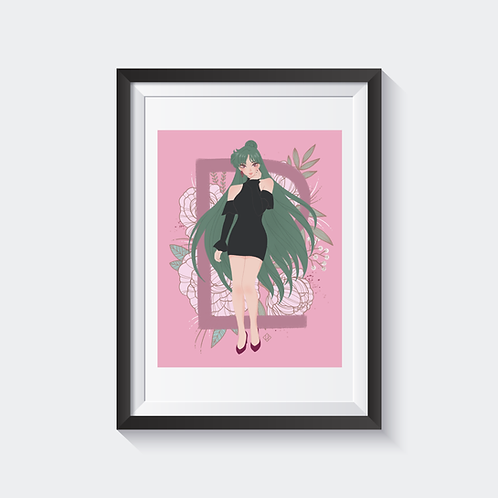 Sailor Pluto Holographic Print