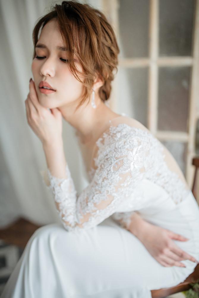 """Skin prep for """"Nature Bridal look"""""""