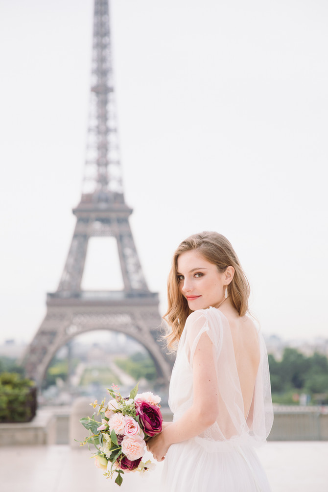 Featured on Cake and Lace: Romantic Elopement in Paris