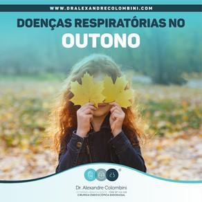 Doenças respiratórias no outono.