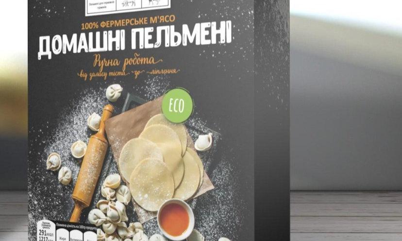 ПЕЛЬМЕНІ З ЛОСОСЕМ 500 грам
