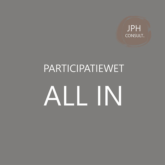 Participatiewet all in