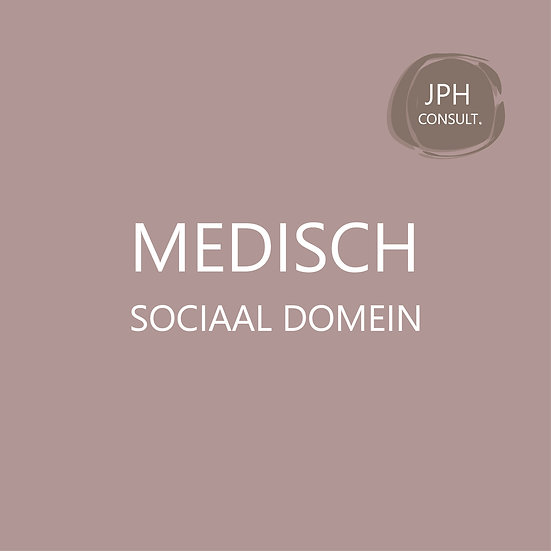 Medisch sociaal domein