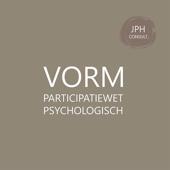 VORM participatiewet psychologisch