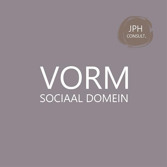 VORM sociaal domein