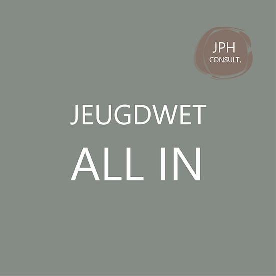 Jeugdwet all-in