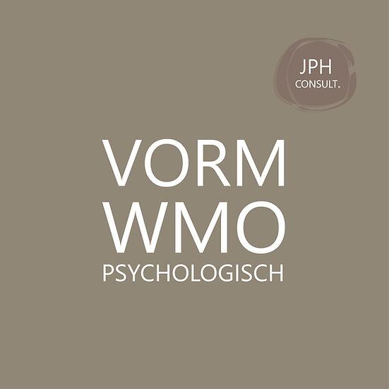 VORM Wmo psychologisch