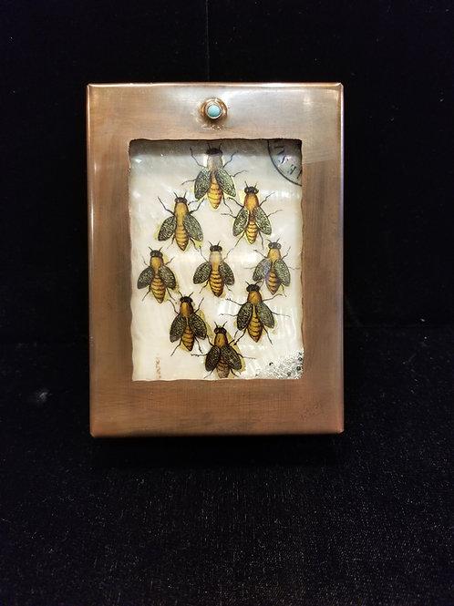 Bees Reliquary Box