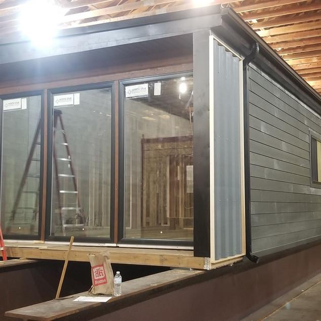 Custom windows and doors are ready.