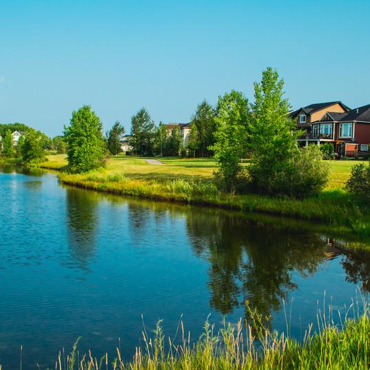 Ranchers Rise Pond
