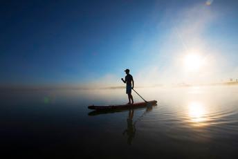 Harmony Paddleboarding on the Lake