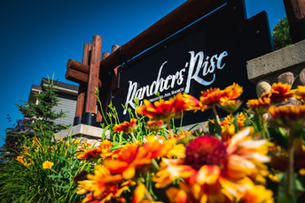 Ranchers Rise entry sign