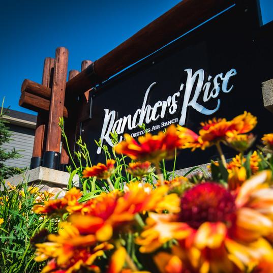 Ranchers Rise Entrance