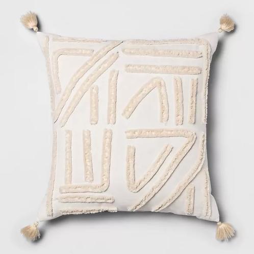 Oversized Boho Tassel Pillow
