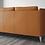 Thumbnail: Leather Mid Century Modern Sofa