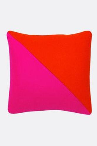 Wool Color Block Pillow
