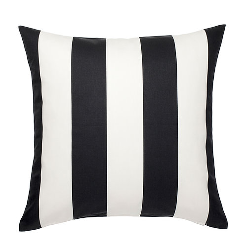 Black & White Canopy Stripe Pillow
