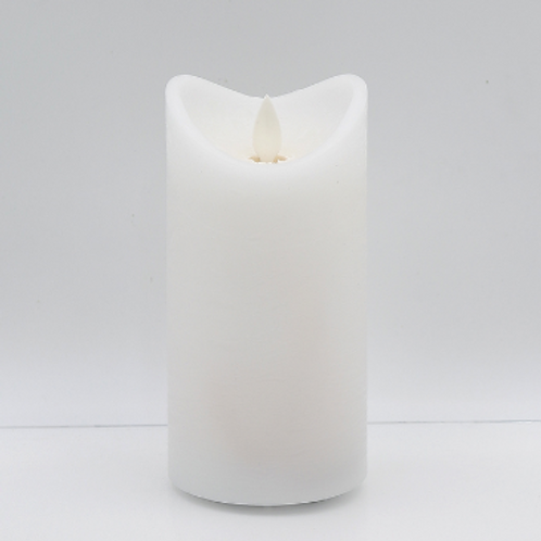 "Battery-Powered 3x6"" Pillar Candle"