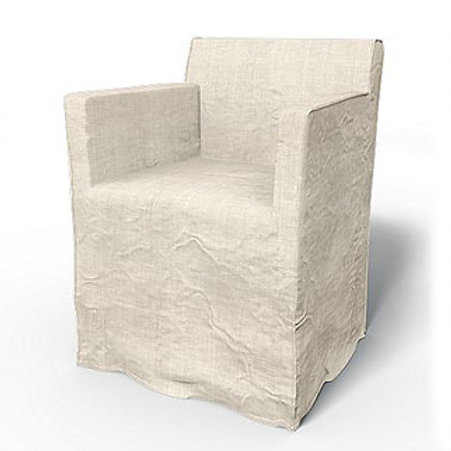 Flax Slipcover Arm Chair