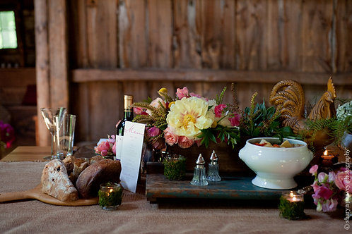 French Blue Table Plank