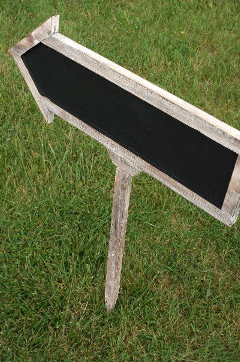 Chalkboard Stake Sign