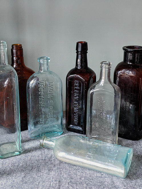 Large Glass Apothecary