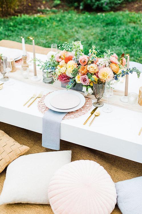 Floor Picnic Table