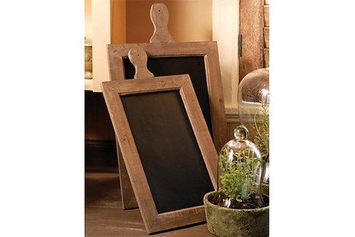 Paddle Chalkboard Small