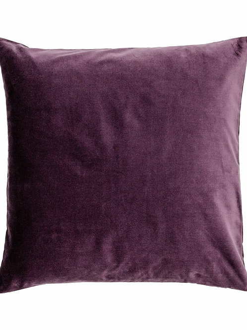 Plum Velvet Pillow