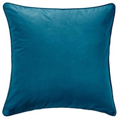 Dark Turquoise Velvet Pillow