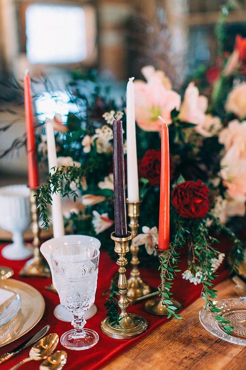Antique Brass Candlesticks