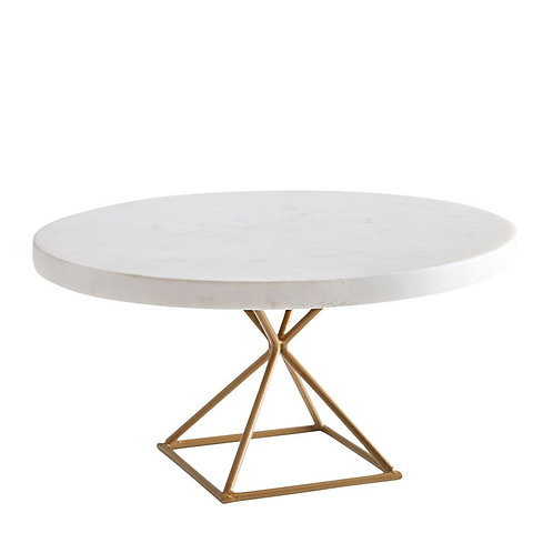 Marble Modern Large Cake Stand