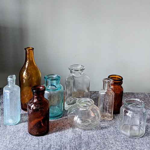Small Glass Apothecary
