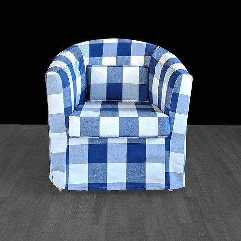 Buffalo Check Club Chair