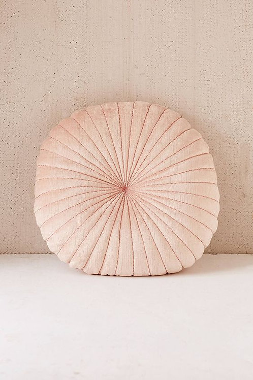 Blush Round Pillow