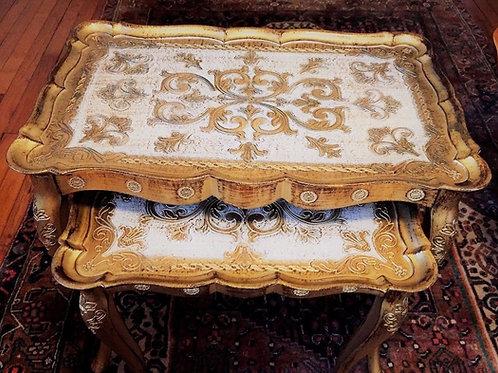 Italian Florentine Nesting Tables