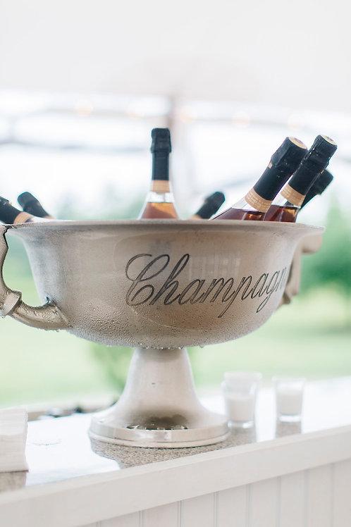 Silver Champagne Urn