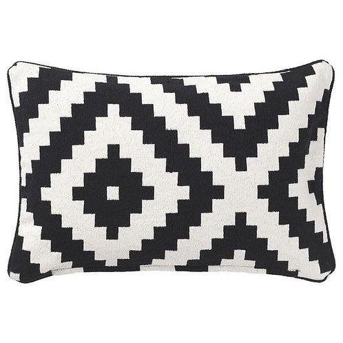 Black & White Bolster Pillows